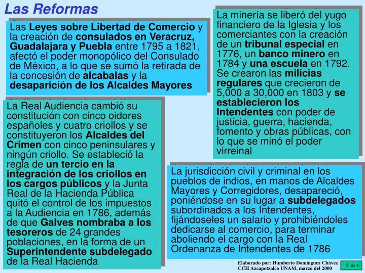 Las Reformas