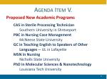 agenda item v