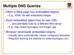 multiple dns queries