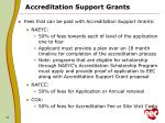 accreditation support grants1