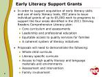 early literacy support grants1
