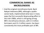 commercial banks as microlenders3