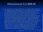 orientamenti cei 2010 202