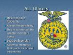 all officers