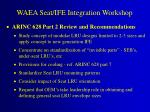 waea seat ife integration workshop1