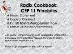 radix cookbook cep 11 principles1