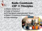 radix cookbook cep 11 principles2