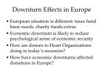 downturn effects in europe