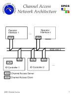 channel access network architecture