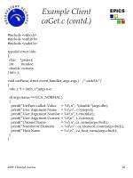 example client caget c contd