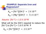 example separate iron and magnesium1