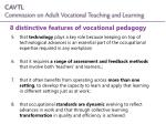 8 distinctive features of vocational pedagogy1