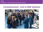 commissioners visit to bae systems