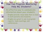 how can progress monitoring help my students1