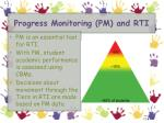 progress monitoring pm and rti