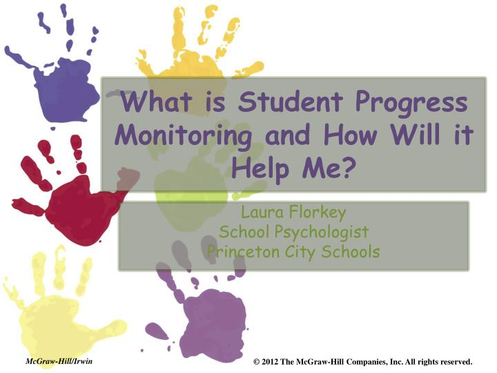 what is student progress monitoring and how will it help me n.