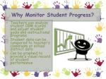why monitor student p rogress
