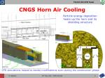 cngs horn air cooling