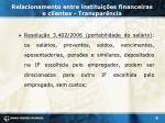relacionamento entre institui es financeiras e clientes transpar ncia3