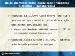 relacionamento entre institui es financeiras e clientes transpar ncia5