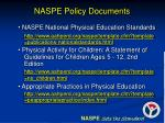 naspe policy documents