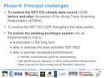 phase ii principal challenges