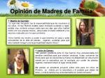 opini n de madres de familia