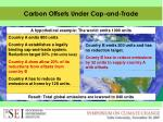 carbon offsets under cap and trade2