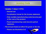 inventory costs1