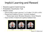 implicit learning and reward1