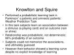 knowlton and squire