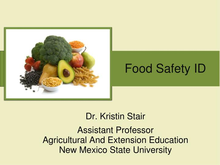 food safety id n.