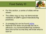 food safety id1