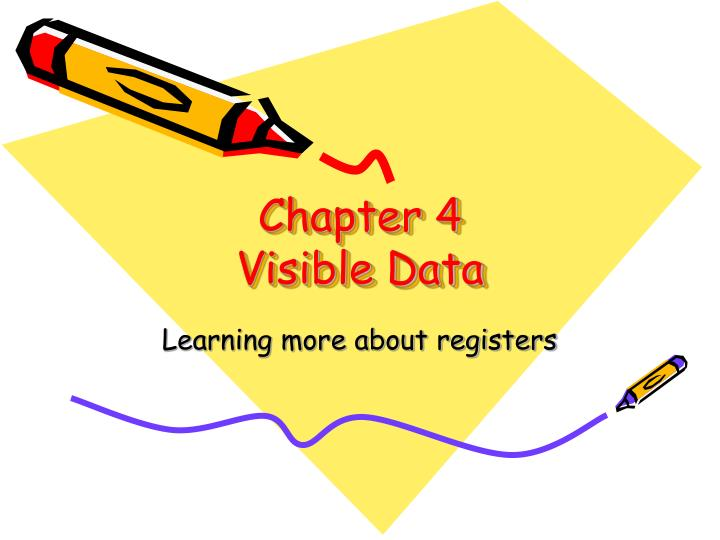 chapter 4 visible data n.
