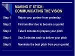 making it stick communicating the vision1