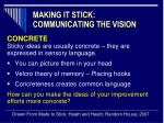 making it stick communicating the vision5