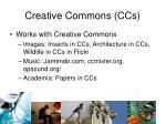 creative commons ccs