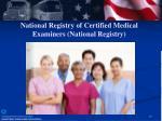 national registry of certified medical examiners national registry