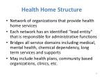 health home structure