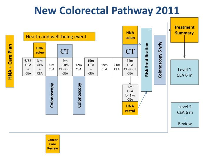New Colorectal Pathway 2011