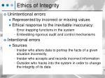 ethics of integrity1