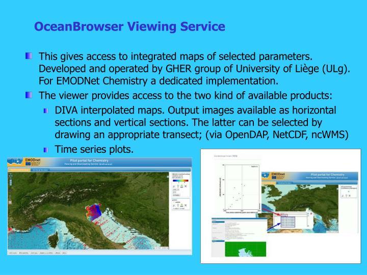 OceanBrowser