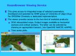 oceanbrowser viewing service