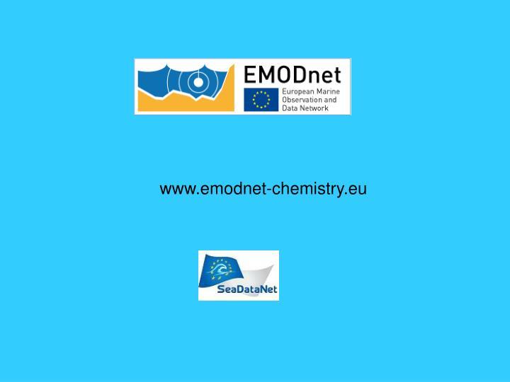 www.emodnet-chemistry.eu