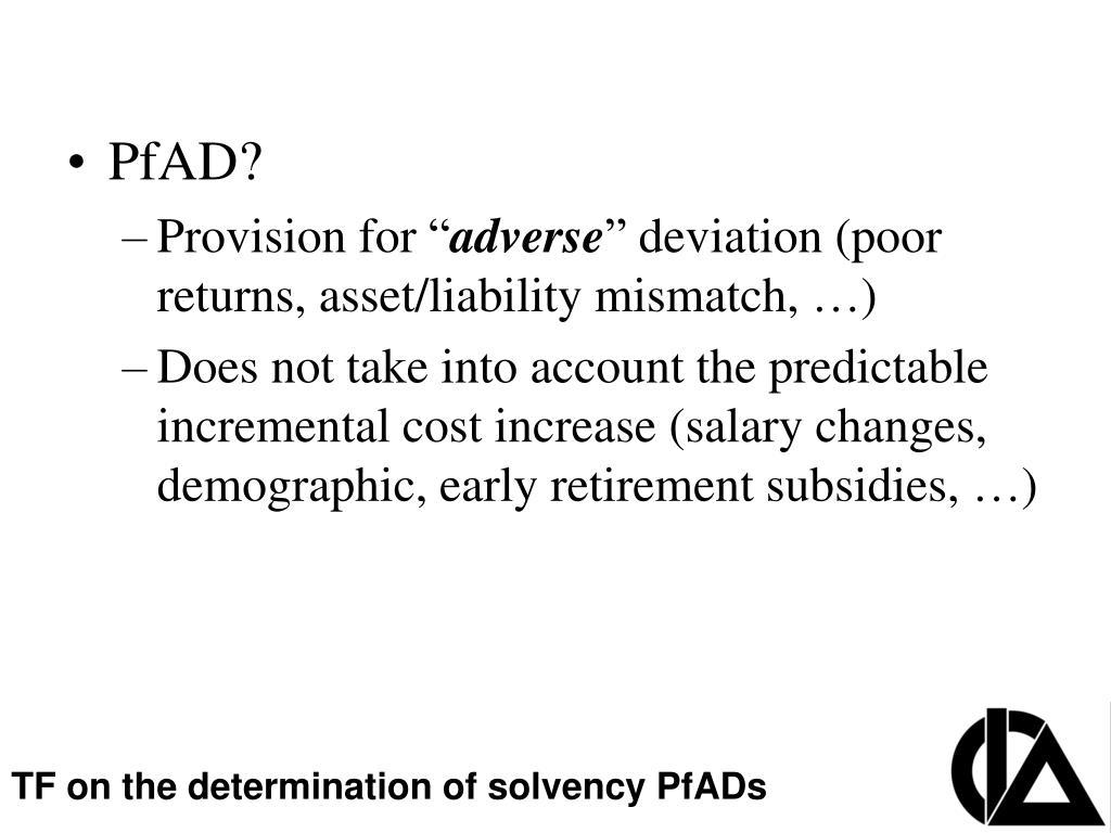 PPT - CIA Pension Seminar Colloque sur les régimes de retraite