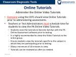 online tutorials administer the online video tutorials