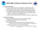 wsr 88d software release plans