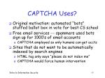 captcha uses