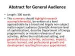 abstract for general audience1
