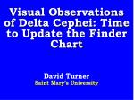 visual observations of delta cephei time to update the finder chart